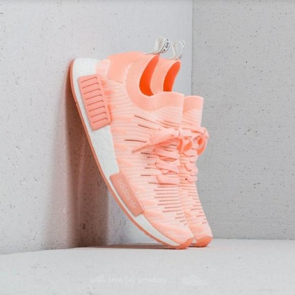 9e389b426 NWT adidas Originals NMD R1 STLT Primeknit Shoes